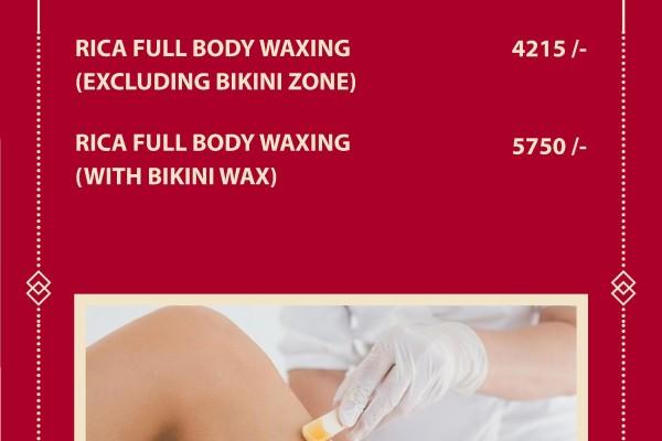 full body wax price