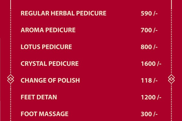 jawed habib pedicure cost
