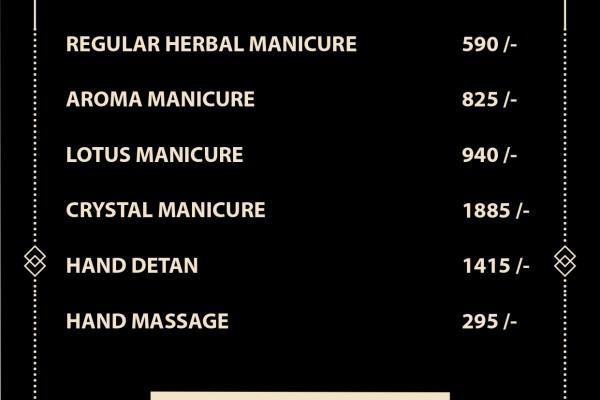 manicure price