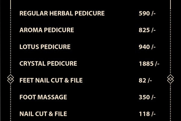 pedicure price