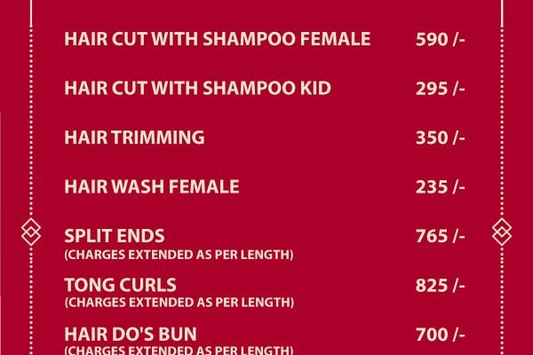 Jawed Habib Haircut Price