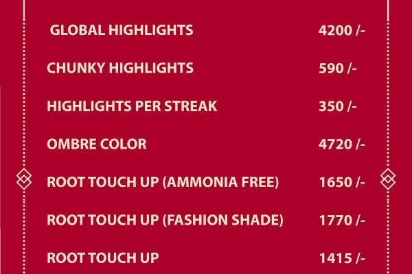 Global Hair Color Price